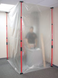 A tent sealing method